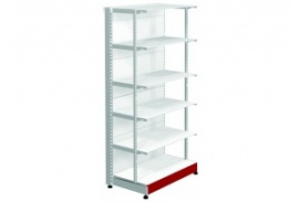 Shelf SK with front upright