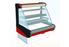 IZUMRUD alacsony hűtővitrin